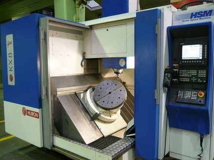 Huron - KX 8 FIVE - second-hand 5-axis machining center